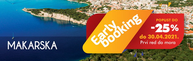 Early booking Makarska